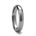 DOMINA Domed Tungsten Carbide Ring - 4mm & 6mm