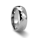 MILLENNIUM 288 Diamond Faceted Tungsten Band - 4mm - 8mm