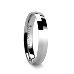 KATANA 4 mm Knife Edge Tungsten Carbide Wedding Ring