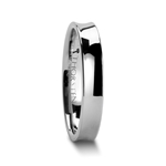 CHELSEA 4 mm Concave Tungsten Carbide Wedding Ring