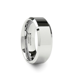 CORINTHIAN Beveled Tungsten Ring - 4mm - 12mm