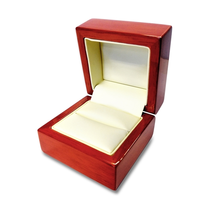 engraved caramel ring box personalized wooden wedding ring box - Wedding Ring Box